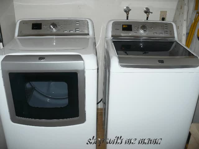 Watch and share Maytag Bravos XL High-Efficiency Top-Load Washer & Dryer GIFs on Gfycat