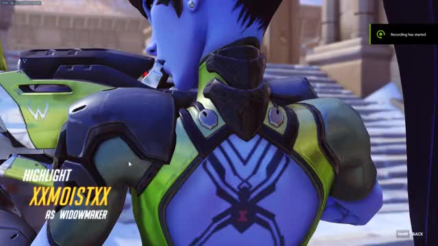 Watch First time Widow in ranked GIF on Gfycat. Discover more Overwatch GIFs on Gfycat