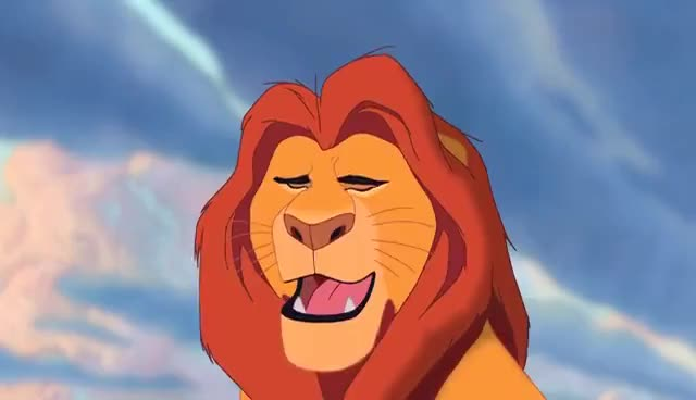 Watch and share Lion King GIFs and Mufasa GIFs on Gfycat