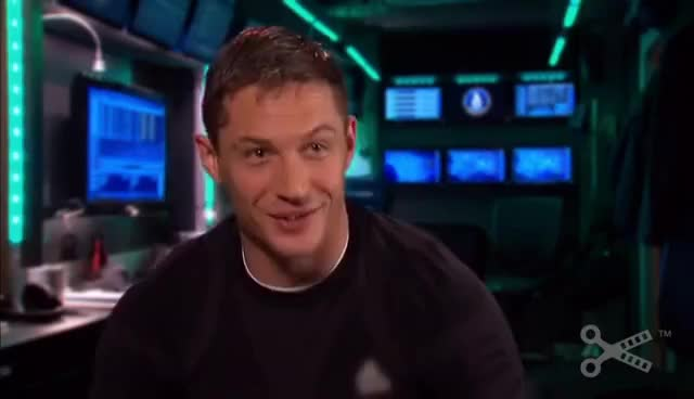 Watch and share Tom Hardy GIFs and Cute GIFs on Gfycat