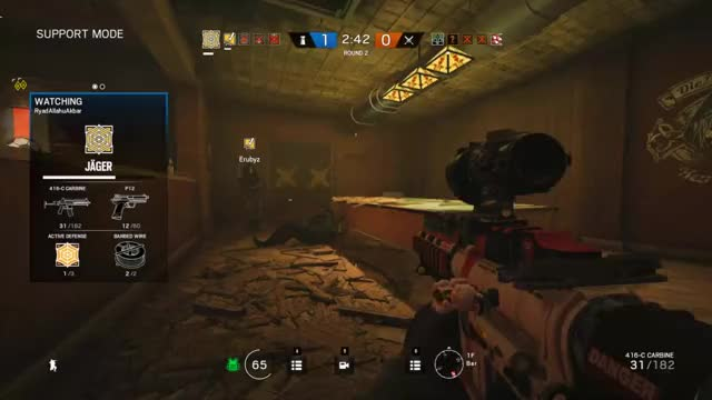 Watch R6S GIF by @lunatic3k on Gfycat. Discover more gaming, rainbow6 GIFs on Gfycat