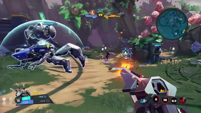 Watch and share Battleborn GIFs and Galilea GIFs by Old Man Cranky on Gfycat
