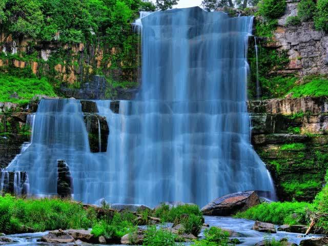 Watch and share Waterfall GIFs on Gfycat