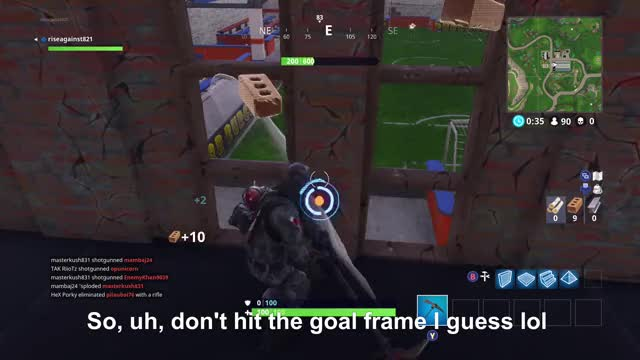 Watch So I guess you can get stuck behind the goal  GIF by xboxdvr on Gfycat. Discover more FortniteBattleRoyale, riseagainst821, xbox, xbox dvr, xbox one GIFs on Gfycat
