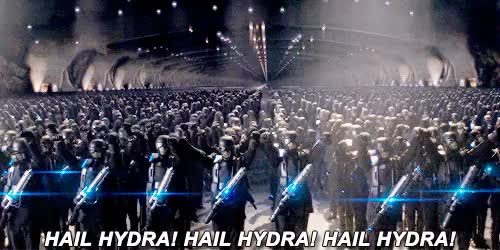 Watch and share Hail Hydra GIFs on Gfycat
