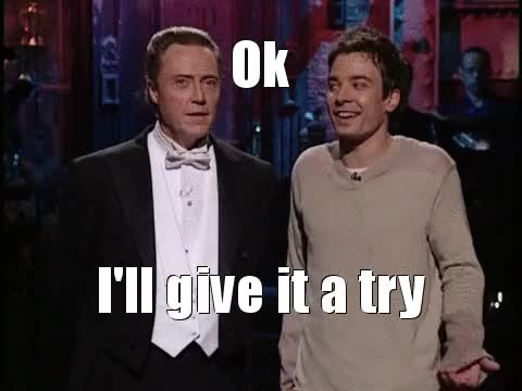 Watch and share Saturday Night Live GIFs and Christopher Walken GIFs on Gfycat