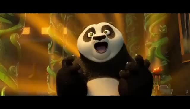 Watch and share Hall Of Heroes | KUNG FU PANDA 3 GIFs on Gfycat