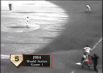 Watch and share Willie Mays The Catch GIFs on Gfycat