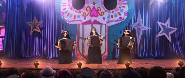 Watch COCO de Disney•Pixar – Batalla de bandas GIF on Gfycat. Discover more Avance, Disney, animacion, clasico, clip, coco, comiquitas, dibujitos, dinsey, divertido, escena, exclusivo, film, hd, oficial, pelicula, peliculas, teaser, trailer, walt GIFs on Gfycat