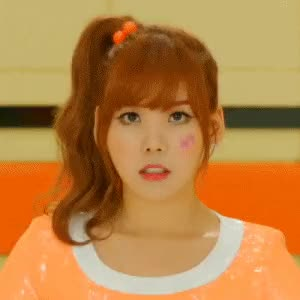 Watch and share Orange Caramel Lipstick Raina GIFs on Gfycat
