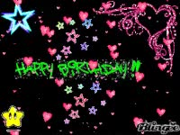 Watch and share Happy Birthday, Myspace Gif, Sparkly Gif GIFs on Gfycat