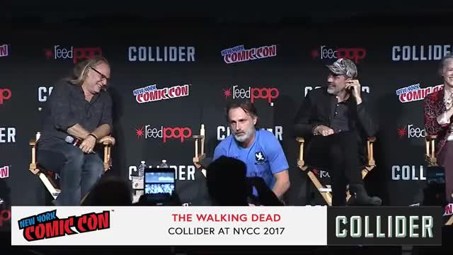 Watch and share The Walking Dead Season 8 Panel - NYCC 2017 GIFs on Gfycat