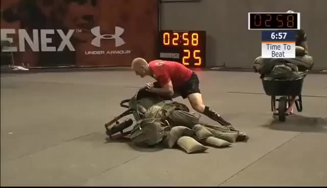 Watch crossfit GIF on Gfycat. Discover more sandbag GIFs on Gfycat