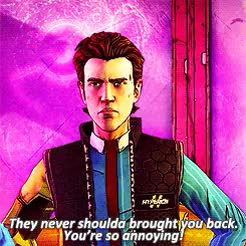 Watch and share Tftbl Spoilers GIFs and Handsome Jack GIFs on Gfycat