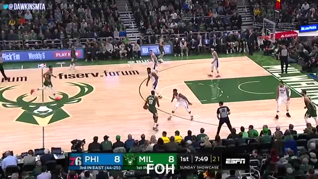 Watch and share Giannis Vs Embiid GIFs and Bucks Vs 76ers GIFs on Gfycat
