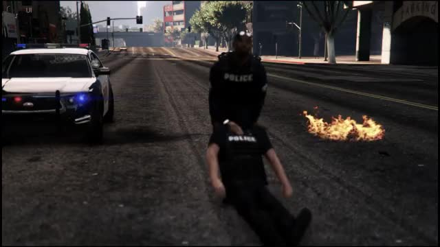 Watch and share TIL Cops Will Drag Wounded Cops Away From Battle (reddit) GIFs by ultrasargent on Gfycat