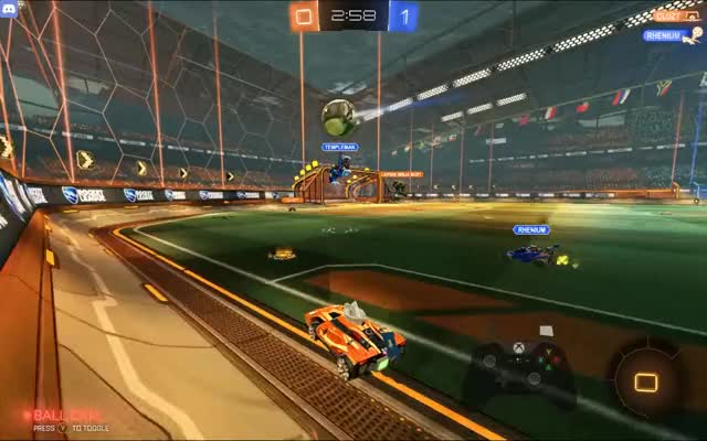 Watch and share Rocket League GIFs by manolod0rg4s on Gfycat