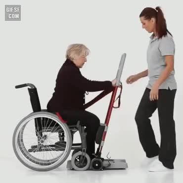 Watch and share 다리가 불편한 사람을 돕기위한 장치 GIFs on Gfycat
