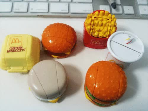 Watch and share Happy Meal Toys GIFs and Mcdonalds Toys GIFs on Gfycat