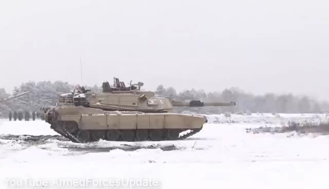 Watch and share WORLDS LARGEST NIGHTMARE For Putin US Military Tanks & Trucks In Poland In Large Numbers GIFs on Gfycat