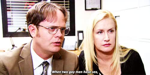 Watch and share Dwight Schrute GIFs and Angela Martin GIFs on Gfycat