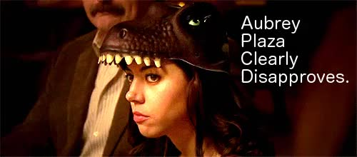 Watch this aubrey plaza GIF on Gfycat. Discover more aubrey plaza GIFs on Gfycat