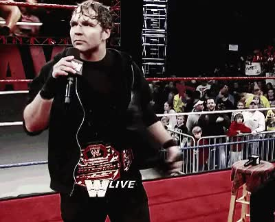 Watch and share Wwe Smackdown GIFs and Dean Ambrose GIFs on Gfycat