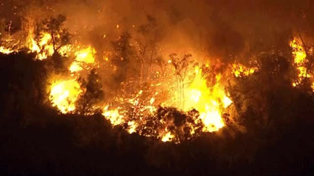 Watch and share Chino Fire Brush Aerials GIFs on Gfycat