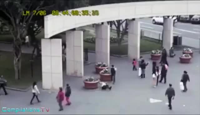 Watch When Texting While Walking Goes Wrong - Funny Accidents and Fails GIF on Gfycat. Discover more related GIFs on Gfycat