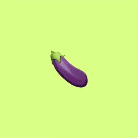 Watch and share Eggplant Emoji GIFs on Gfycat
