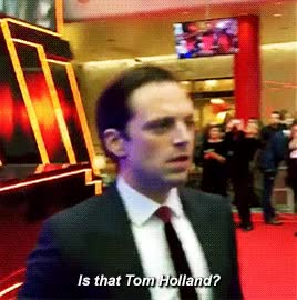 Watch Tom holland GIF on Gfycat. Discover more related GIFs on Gfycat