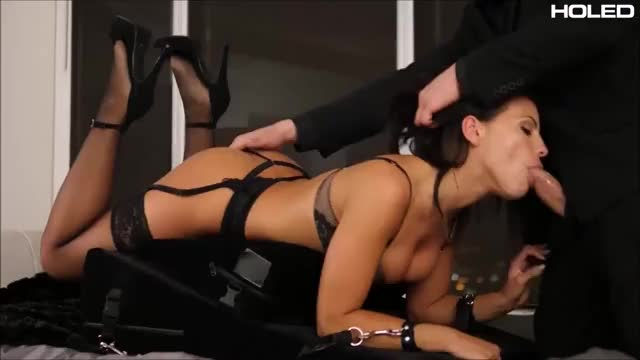 adriana Chechik Facefucked And Spanked