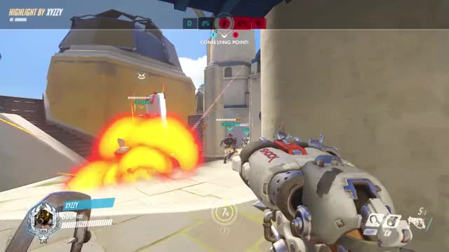 Watch and share Overwatch GIFs and Highlight GIFs by Xyzzy on Gfycat