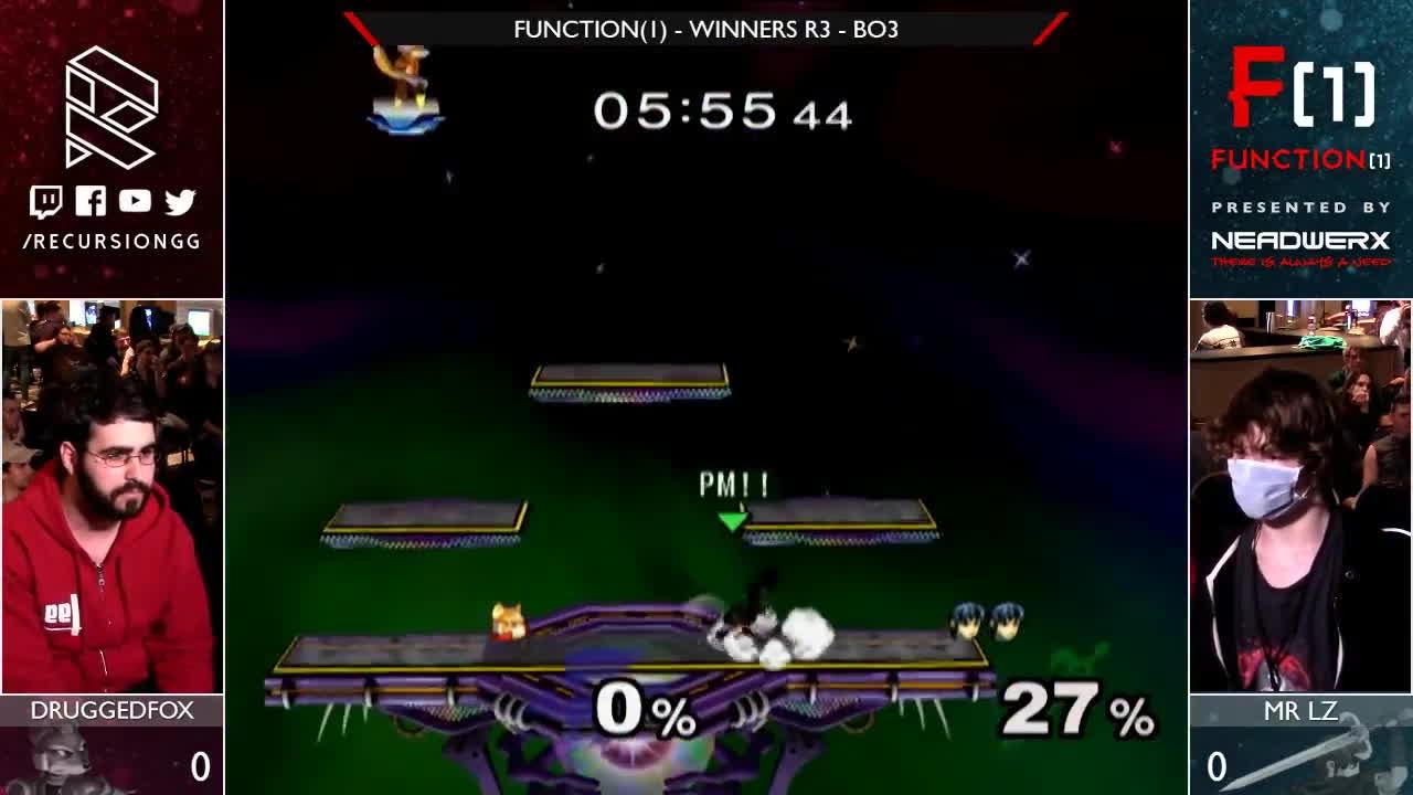lz, smash, ssbm, Function(1) - Winners Quarters - Mr Lz vs Druggedfox GIFs