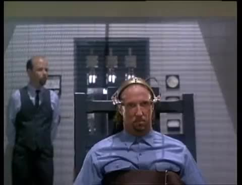 Watch and share House 3 (1989) UNRATED Electric Chair Scene GIFs on Gfycat
