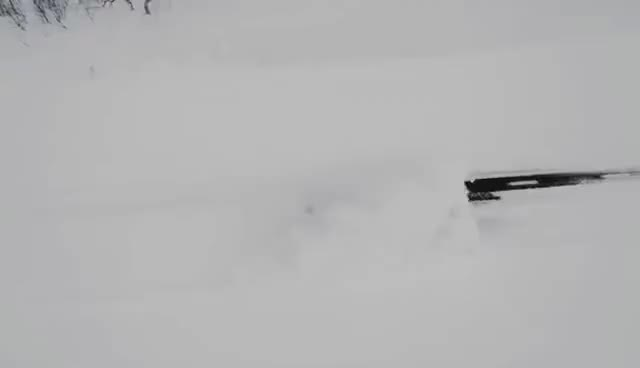 Watch and share Jon Olsson's Audi RS6 DTM Attacks The Snow GIFs on Gfycat