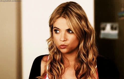 ashley, benson, eyebrow, raise, really? GIFs