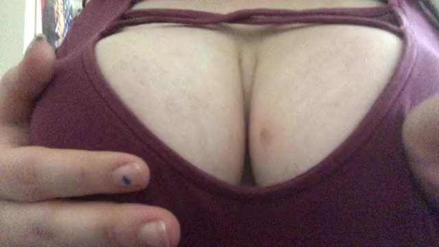 celebrating getting throughout the week with a jiggly titty reveal
