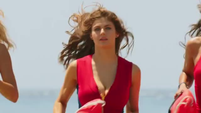 Watch Baywatch Teaser Trailer (2017) - Paramount Pictures (reddit) GIF on Gfycat. Discover more alexandradaddario, movies GIFs on Gfycat