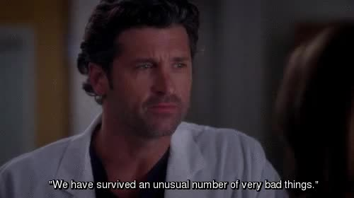 Watch survived GIF on Gfycat. Discover more Patrick Dempsey, ignore text, improv, shrpgstarter GIFs on Gfycat