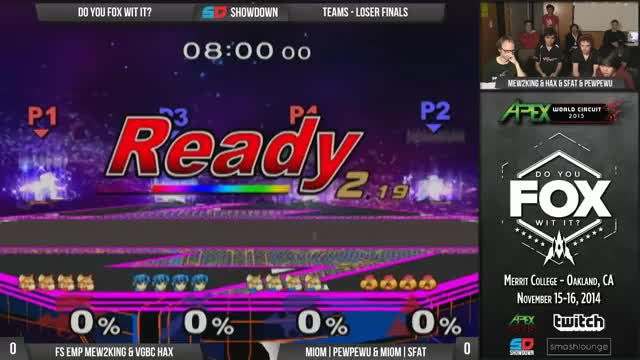 Watch and share DYFWI Day 2 - VGBC|Hax & FS EMP Mew2King Vs MIOM|PewPewU & MIOM|SFAT GIFs on Gfycat