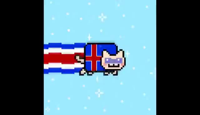 Watch Iceland Nyan GIF on Gfycat. Discover more Cat, Iceland, Nyan GIFs on Gfycat