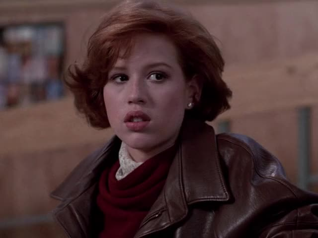 Watch and share The Breakfast Club GIFs and Molly Ringwald GIFs by MikeyMo on Gfycat