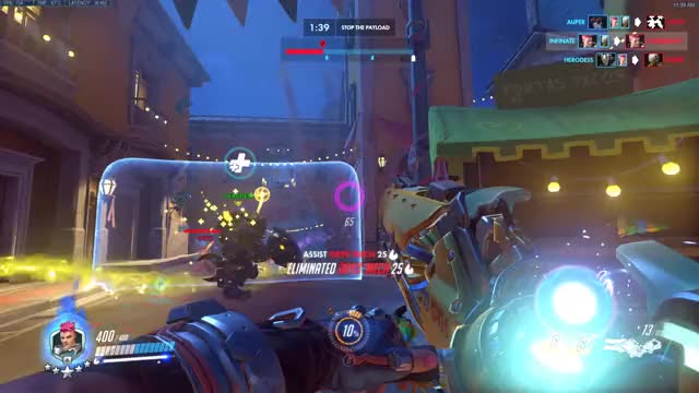 Watch and share Overwatch GIFs and Ana GIFs by Infinate on Gfycat