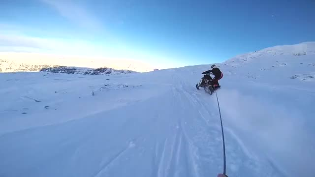 Watch Ski BASE- pulled by snowmobile (reddit) GIF on Gfycat. Discover more adrenalineporn GIFs on Gfycat