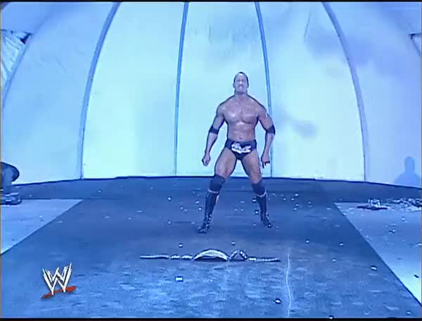 Watch and share Brock's A Huge Mark For The Rock (reddit) GIFs on Gfycat