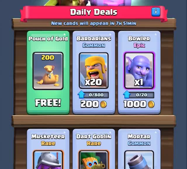Watch and share New Shop Clash Royale GIFs by Clash World on Gfycat