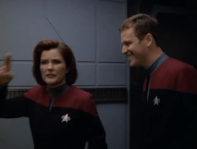 Watch and share Star Trek Voyager GIFs and Captain Janeway GIFs by Star Trek gifs on Gfycat