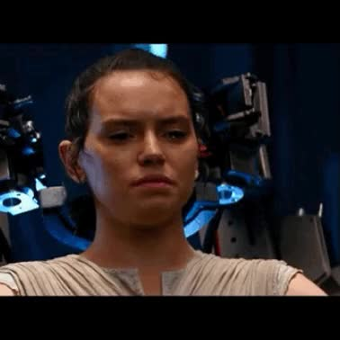 Watch and share Daisy Ridley GIFs and Adam Driver GIFs on Gfycat