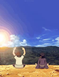 Watch and share Madara Uchiha Madara Imadethisyo Hashirama Senju Hashirama Narutographic GIFs on Gfycat